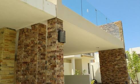 Remodelación Casa Coto 9: Terrazas de estilo  por Grupo Deyco