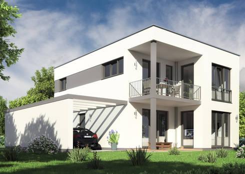 Haus bauhaus ii von rostow bau homify for Modernes haus projekte