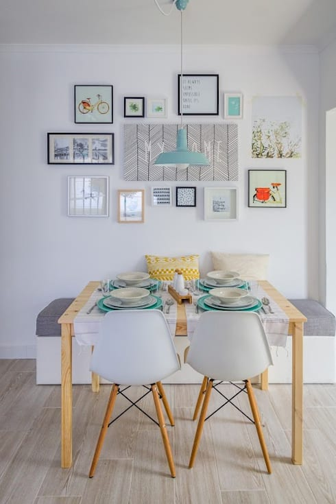 Querido mudei a casa episódio#2402: Salas de jantar escandinavas por Homestories