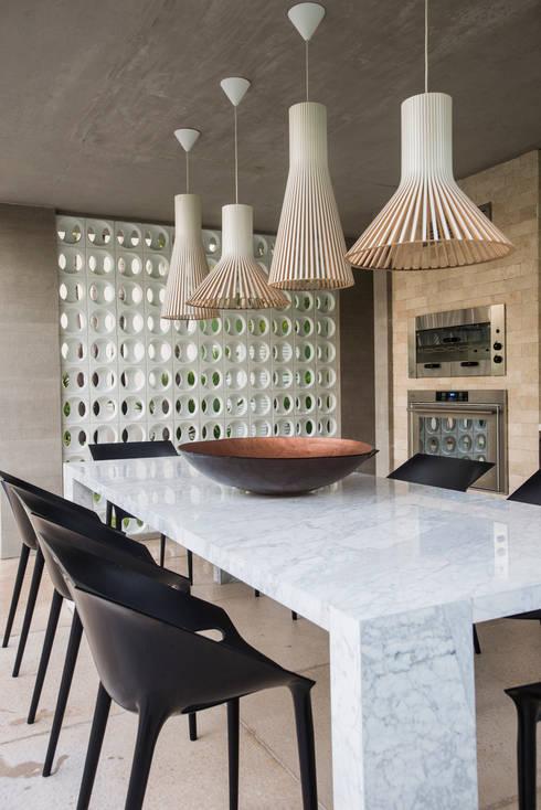 Столовые комнаты в . Автор – Rodrigo Maia Arquitetura + Design