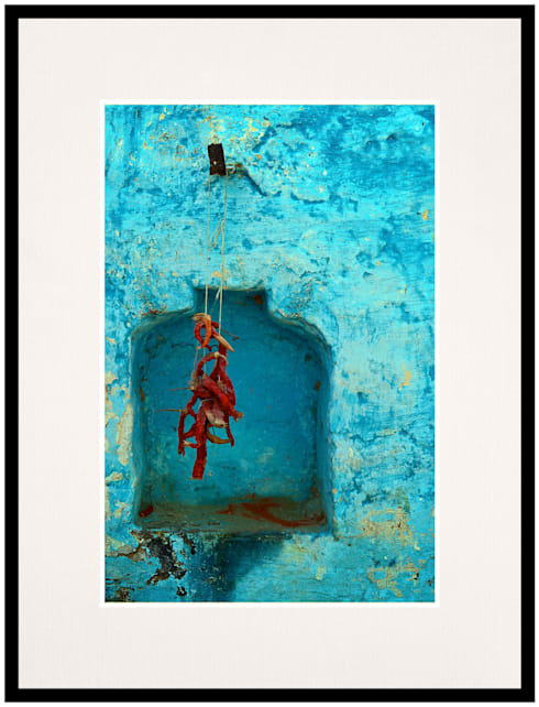 Red Chilli Alcove:  Artwork by IndiPix Gallery