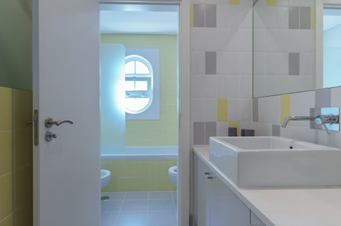 Vale Garrão: Casas de banho clássicas por Zenaida Lima Fotografia
