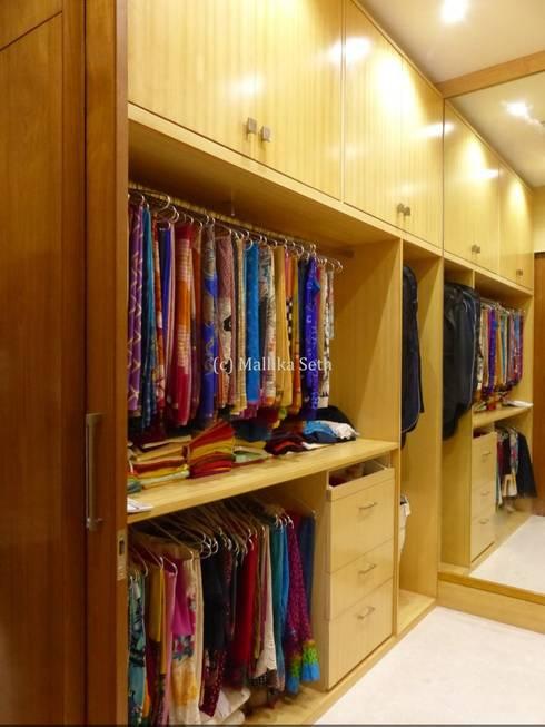 industrial Dressing room by Mallika Seth