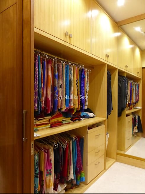 Dressing room by Mallika Seth