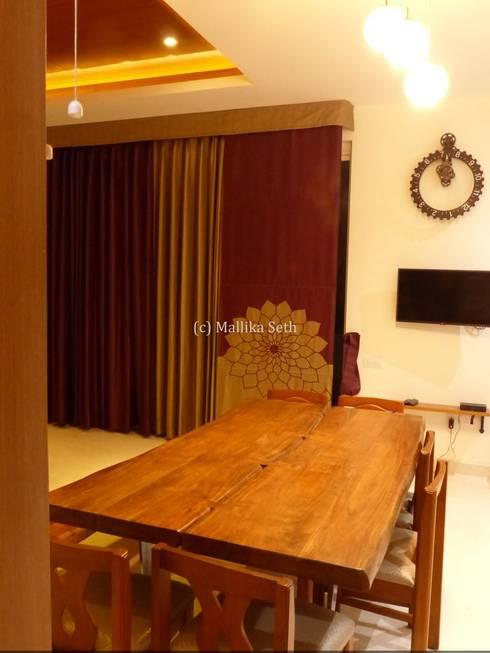 Dining room by Mallika Seth