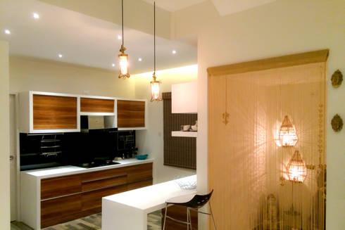BLUE-JAY: modern Kitchen by Rubenius Interiors