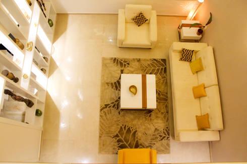 GRANCARMEN: modern Living room by Rubenius Interiors