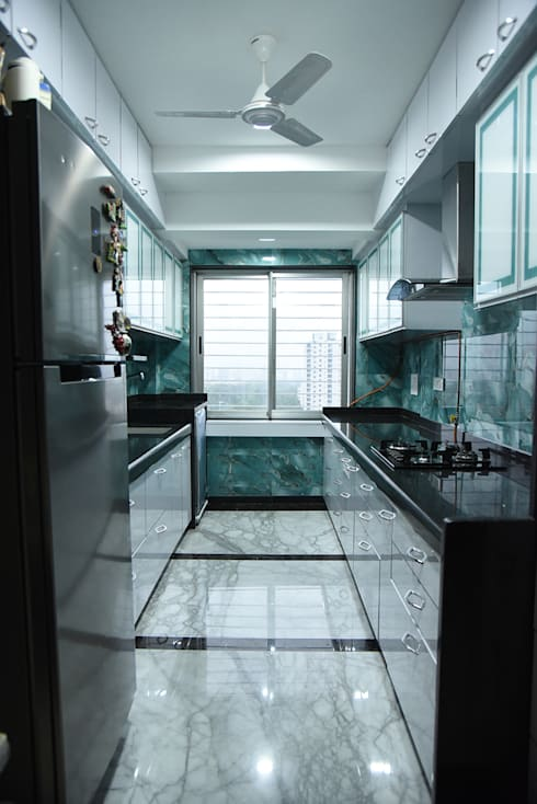 Deshmukh Residence:  Kitchen by Ornate Consultants