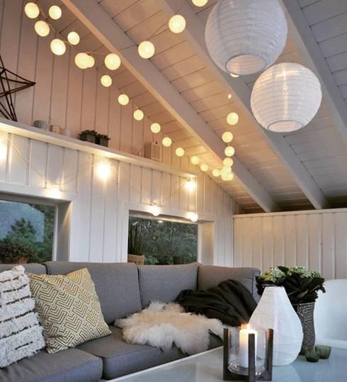 Arredamento ed illuminazione di balconi e terrazze di cobo for Arredo balconi e terrazze
