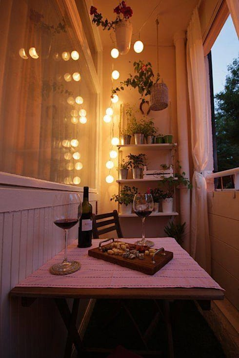 Arredamento ed illuminazione di balconi e terrazze di COBO | homify