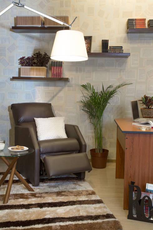 Sala de lectura: Estudio de estilo  por Idea Interior