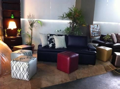 Mueble: Salas/Recibidores de estilo moderno por Decoraciones Santander