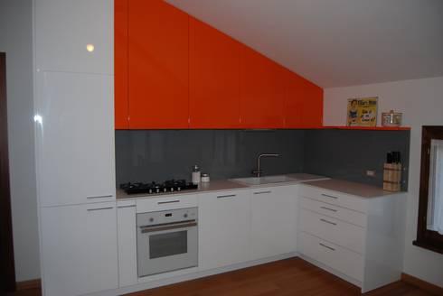 Cucine su misura progettate da architetti de ascari i for Case progettate da architetti