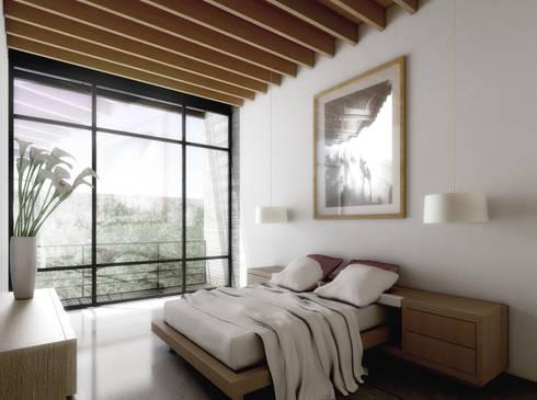 COATEPEC: Baños de estilo  por gOO Arquitectos