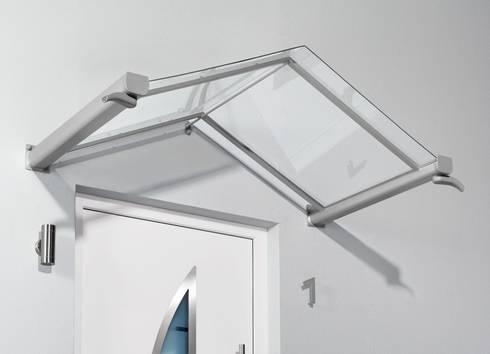 Haustürvordach - Giebelvordach GV/T:   von elite-BauStoffe  -  Matthias Löffler Handelsvertretung Baustoffe