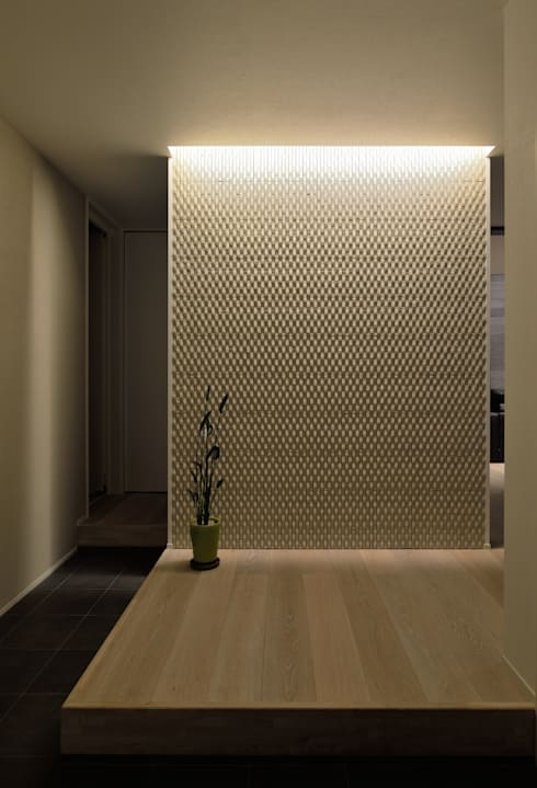 Corridor, hallway by 株式会社ブレッツァ・アーキテクツ