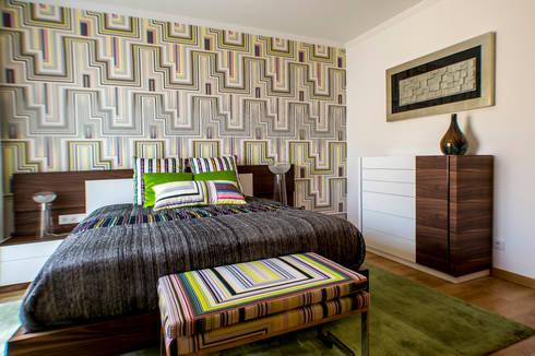 Moradia 20 Algarve: Quartos modernos por Atelier  Ana Leonor Rocha