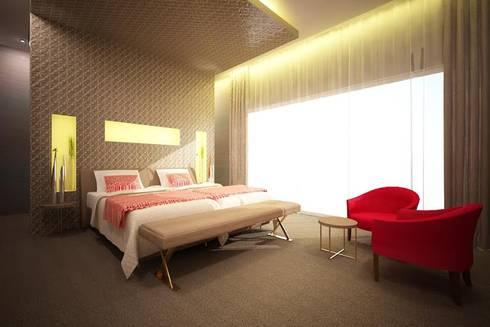 HOTEL Lisboa 2015: Hotéis  por Atelier  Ana Leonor Rocha
