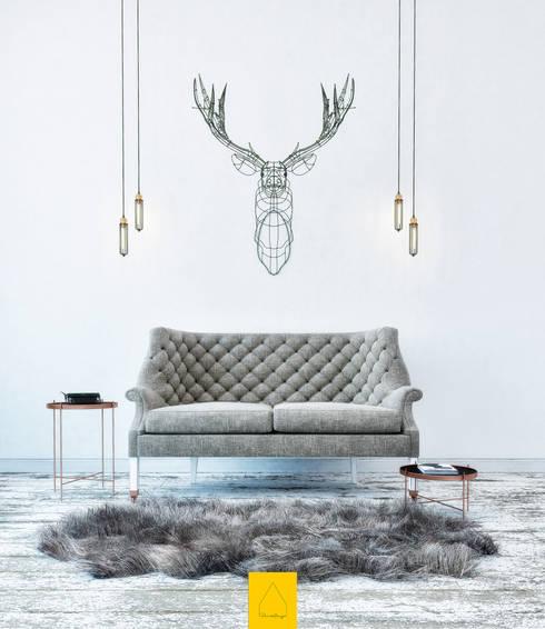 scandinavian Living room by Penintdesign İç Mimarlık