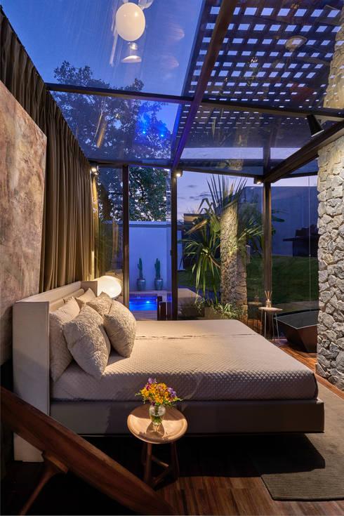 Casas de estilo  por Cristina Menezes Arquitetura