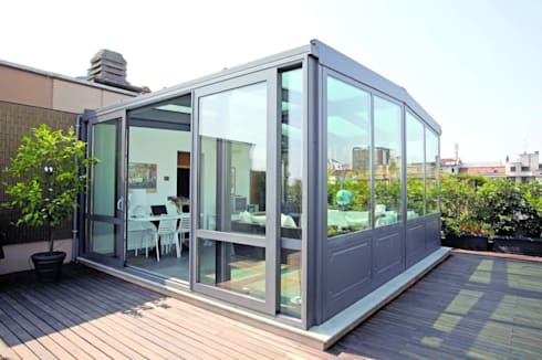 Emejing Serra Terrazzo Images - Idee Arredamento Casa - hirepro.us