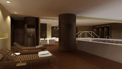 SPA: Hotéis  por ARTEQUITECTOS