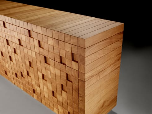 peças de mobiliário: Sala de jantar  por Nuance Home Design