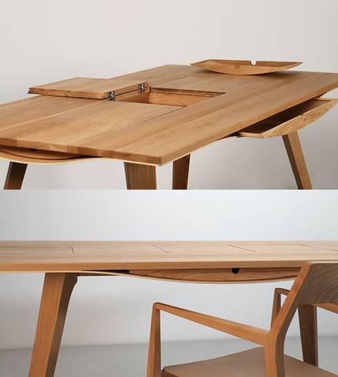 peças de mobiliário: Escritório e loja  por Nuance Home Design