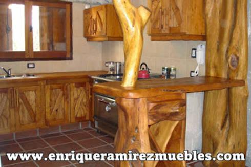 Muebles de cocina artesanales by enrique ramirez muebles for Muebles artesanales
