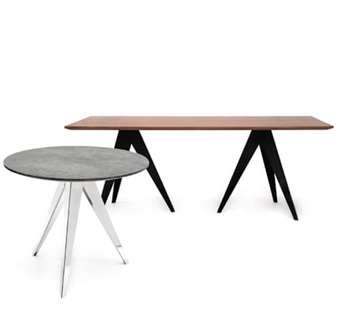 Aristo Dining Table: Sala de jantar  por HMD Interiors
