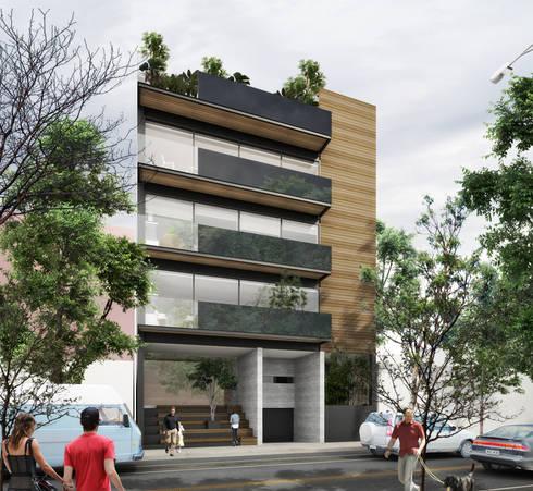 Providencia: Casas de estilo moderno por Sulkin Askenazi