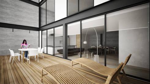 Providencia: Terrazas de estilo  por Sulkin Askenazi
