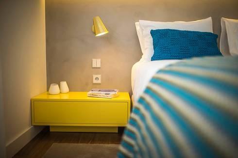 Parede em Microcimento: Hotéis  por 4Udecor Microcimento