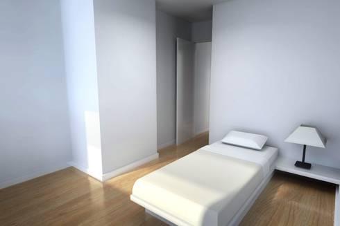 Remodelação de Apartamento: Quartos de criança modernos por Zaida Amorim & Maria Luis, Lda