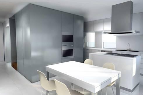 Remodelação de Moradia em Alvalade - Lisboa: Cozinhas modernas por Zaida Amorim & Maria Luis, Lda