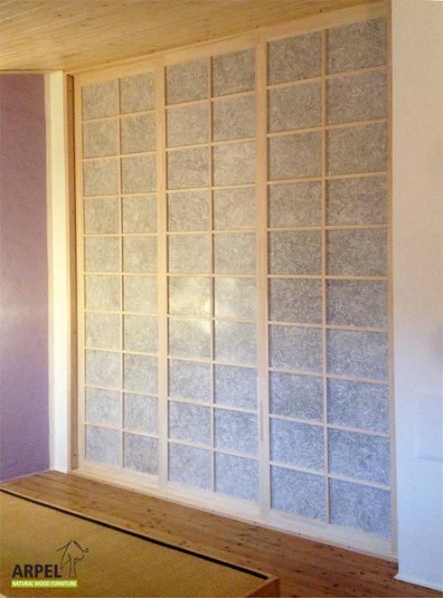 Cabine armadio su misura in stile giapponese di Arpel | homify