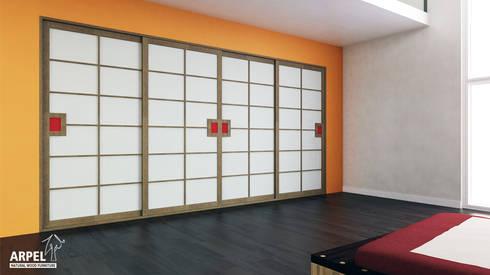 cabine armadio su misura in stile giapponese di arpel homify
