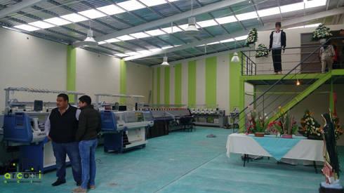 Fabrica Textil: Oficinas y tiendas de estilo  por ARCO +I