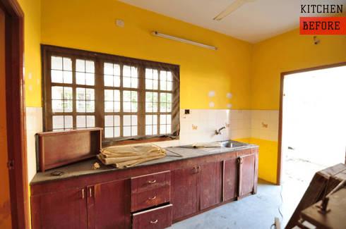 Modular Kitchen - Before:   by Aegam