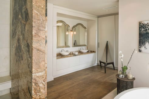 THE VILLA, CAPE TOWN   I   MARVIN FARR ARCHITECTS: eclectic Bathroom by MARVIN FARR ARCHITECTS