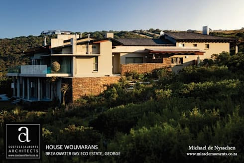 House Wolmarans: modern Houses by Coetzee Alberts Architects