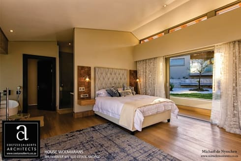 House Wolmarans: modern Bedroom by Coetzee Alberts Architects