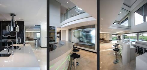 Residence Calaca: modern Kitchen by FRANCOIS MARAIS ARCHITECTS