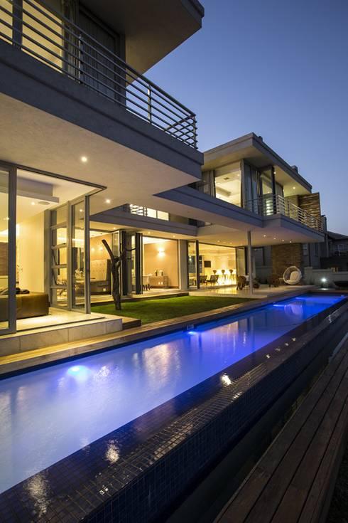 Projekty,  Taras zaprojektowane przez FRANCOIS MARAIS ARCHITECTS
