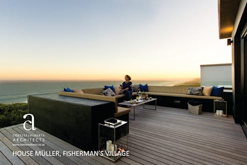 House Meuller:  Patios by Coetzee Alberts Architects
