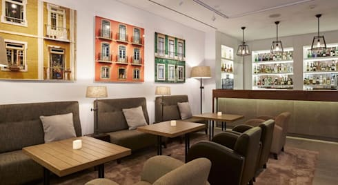 Bar: Hotéis  por Amber Road - Design + Contract