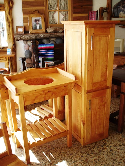 Muebles vanitorys de enrique ramirez muebles artesanales - Muebles artesanales de madera ...
