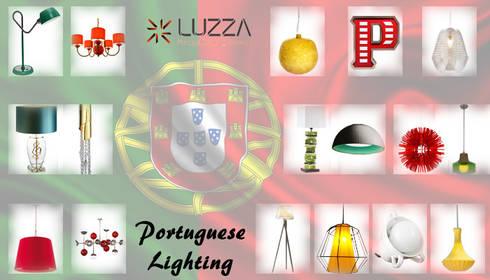 Portuguese Lighting: Casa  por LUZZA by AIPI - Portuguese Lighting Association