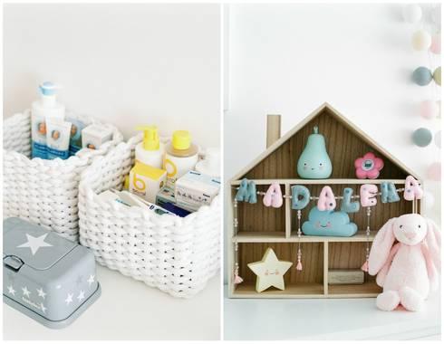 Quarto de Bebé: Quartos de criança modernos por In&Out
