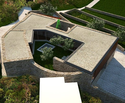 Habitação MB: Casas modernas por ARTEQUITECTOS